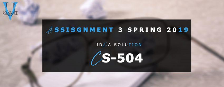 CS504