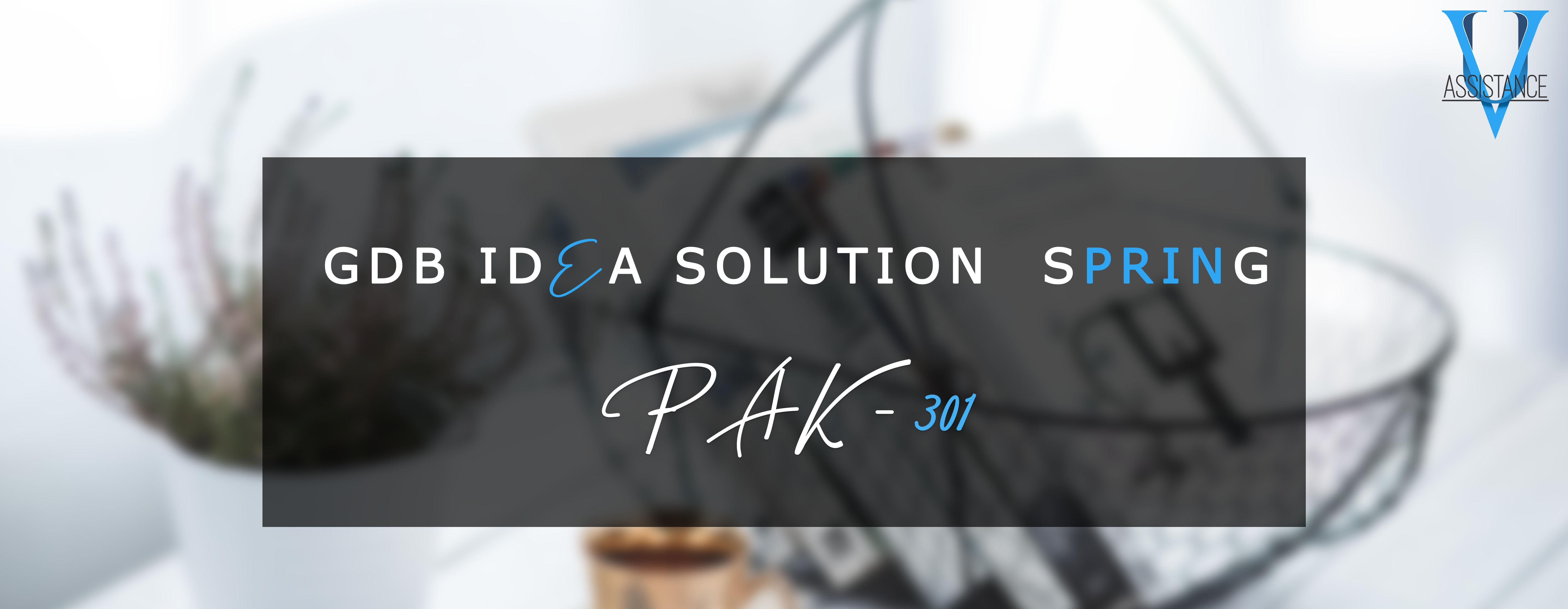 PAk301 Gdb solution