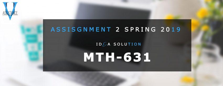 Mth631