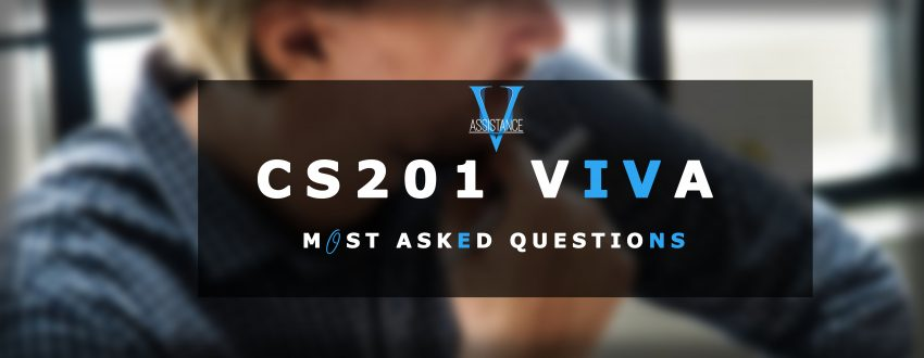 CS201 Viva Important Questions and Answers