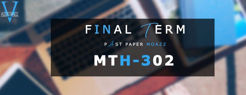 Mth302 PastPaper Finalterm