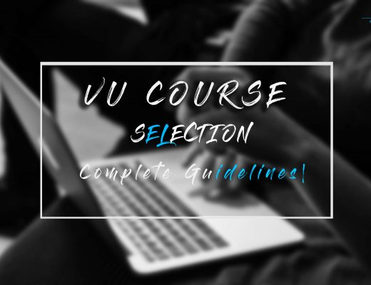 vu course selection guideline